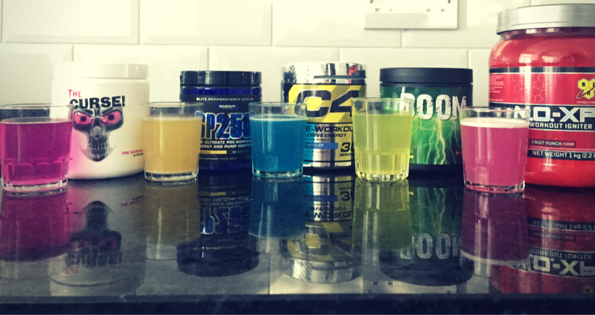My Top 4 Pre-Workout Supplements