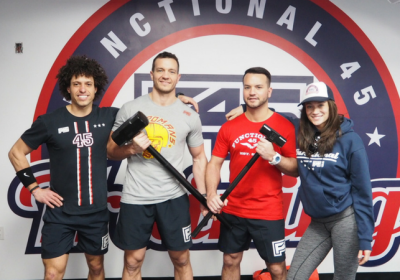 This Month I Tried: F45 Flatiron, New York City The Newest Gym In Town